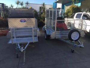 Gal 7x4 Trailer package with Mower Pad Ramp and Toolbox Brisbane City Brisbane North West Preview