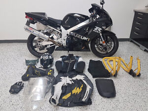 2002 Gsxr 750 Suzuki  Fully Serviced New Everything With Gear
