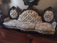 Antique Couch. Loveseat and Chair