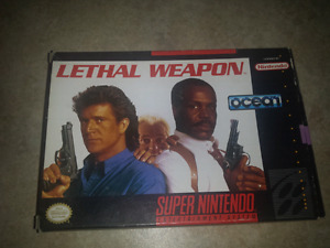 SNES Lethal Weapon 100% complete