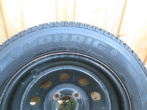 2  FORD FOCUS, FIESTA  RIMS AND SNOW TIRES  P195/65/R15 Kitchener / Waterloo Kitchener Area image 2