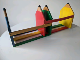 Wooden Extendable Book Stand