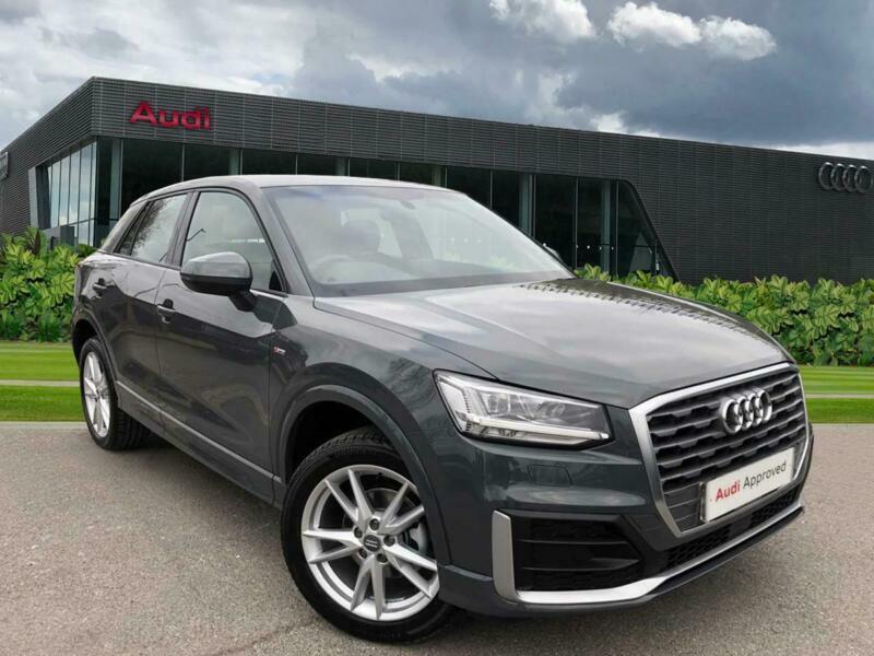 2019 Audi Q2 S line 35 TFSI 150 PS S tronic Petrol grey ...