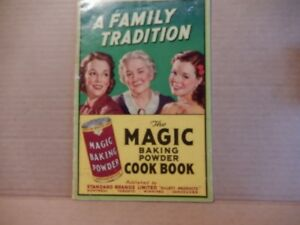 3 older cook books