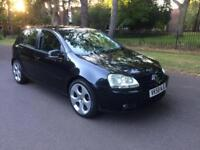 2008 GOLF 1.9 TDi MATCH BLUEMOTION 5 DOORS HATCHBACK BLACK 5 SPEED