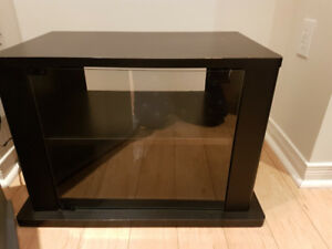 2 TV Stand with glass Doors