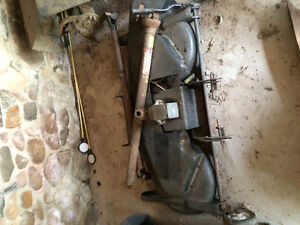 Old MTD lawn tractor with PTO tiller and mower Kitchener / Waterloo Kitchener Area image 3