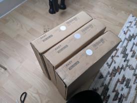 IKEA EKET Shelves (Set of Three)