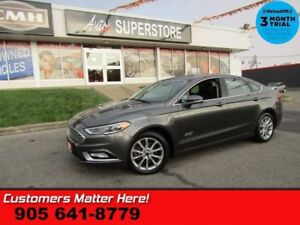 2017 Ford Fusion Energi SE Luxury  LEATHER CAMERA BLINDSSPOT LAN
