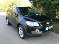 2010 CHEVROLET CAPTIVA LTZ VCDI 2.0 TURBO DIESEL AUTOMATIC 4X4 7 SEATER