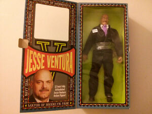 "Man of Action Figure Jesse Ventura Governor of Minnesota 12"" $25"