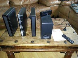 Hitachi Slimline DAB CD player