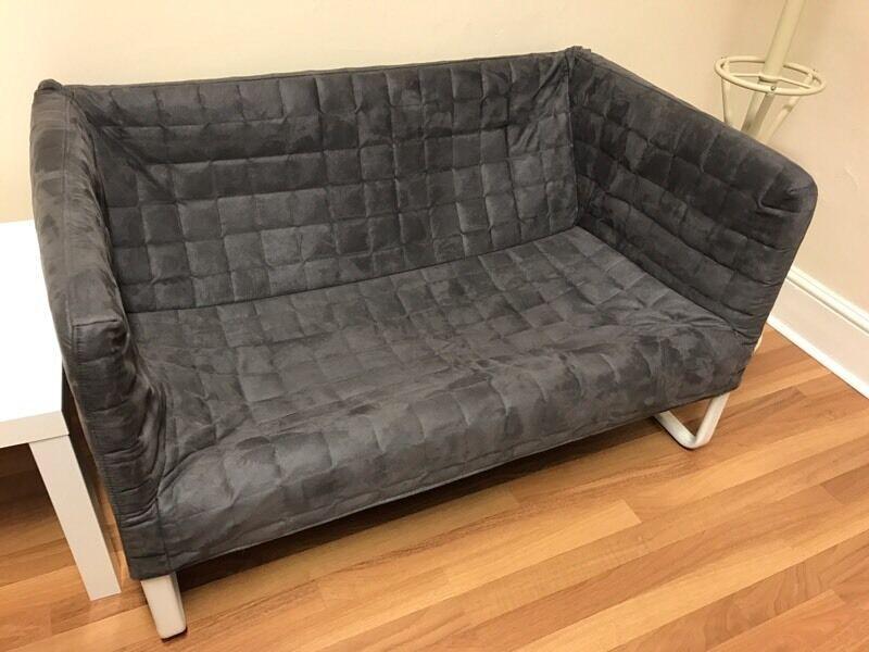Ikea Knopparp Grey 2 Seater Sofa In Norwich Norfolk