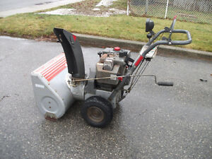 craftsman snowblower tecumseh engine manual