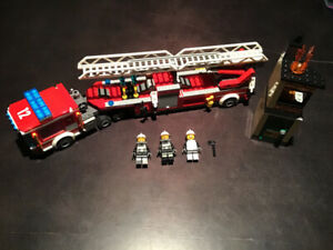 LEGO City 60112 Fire Engine 100% Complete