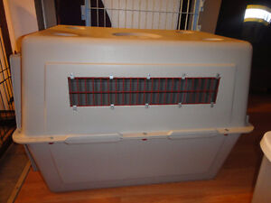 medium sized vari kennel for pet