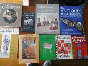 Assorted Antique Reference Books