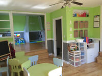 Spaces available at Little Explorers Daycare in Sunny Corner!