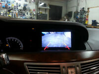 Mercedes reverse camera to factory system OEM backup camera