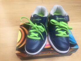 Unisex Heelies size 4 brand new with box