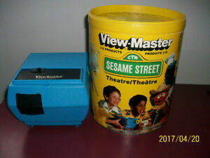 View-master Entertainer Projector GAF + 6 disques,1980,vintage