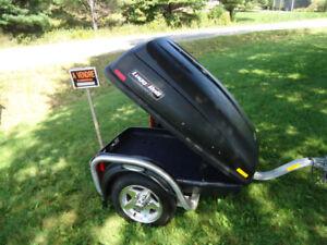 remorque Podium Lugg and Roll trailer spyder moto auto