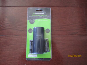 Emergency , battery-operated,  USB Charger for Cell phones, GPS,