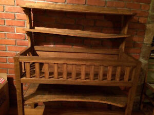 Antique French Vegetable Rack