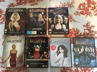 Battlestar Galactica DVD Seasons 1,2,3,4,5 & Caprica & Razor & The Plan