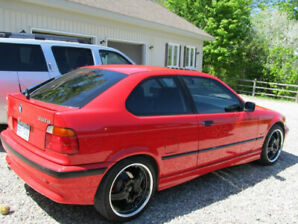 BMW 318ti Hatch - Rare - Great Condition! Never winter driven!