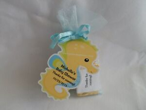 under the sea theme baby shower birthday party favor tags