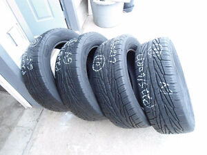 NOW CLEARING OUT MY 17 INCH USED TIRES