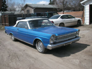Reduced 65 Ford convertible