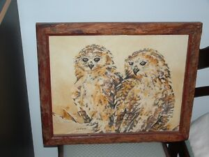 PELS FISHING OWLS by LIN BARRIE Peterborough Peterborough Area image 2