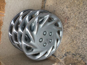 """Car hubcaps (8) for 14"""" wheels"""