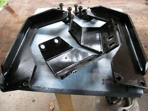 Mounting Brackets for a snowbear snow plow Toyota 4Runner