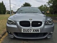 BMW 530D M SPORT FULL BMW SERVICE HISTORY SAT NAV HEATED LEATHER SEATS £6749ONO