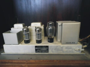 Buying Old Vacuum Radio audio tubes tube amps test equipment etc