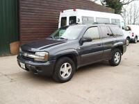 LEFT HAND DRIVE 2005 CHEVROLET TRAILBLAZER LS 4X4 JEEP SUV AUTOMATIC LHD