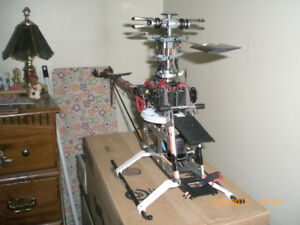 TREX 600 electric heli  no battery  plus extra parts