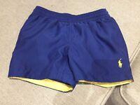 2 pairs Boys Kids Ralph Lauren swim shirts size 3T