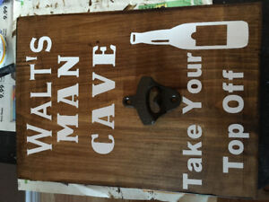 Customized Man Cave Shed Signs