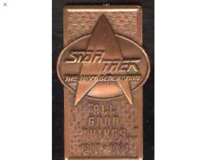 Star Trek Bronze Pin