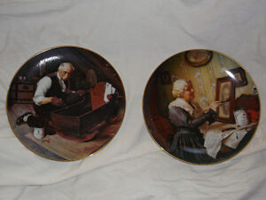 Norman Rockwell collector plates Cornwall Ontario image 1