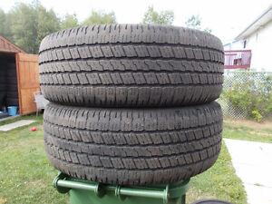 p275/60/20 inch Goodyear All Season Truck Tires / GOOD DEAL