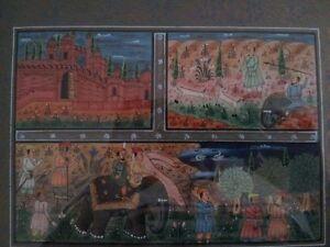 Moghul miniature print