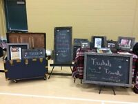 Magnetic Chalk Board Signs