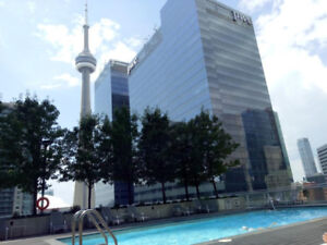 Downtown Toronto Furnished Condo for Rent Union Station