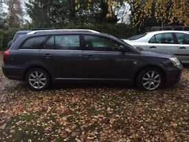 2006 Toyota Avensis 2.2 Diesel estate Great space and MPG