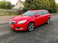 2012 Vauxhall Insignia 2.0 CDTi 16v SRi VX-Line Red 4x4 5dr (start/stop)